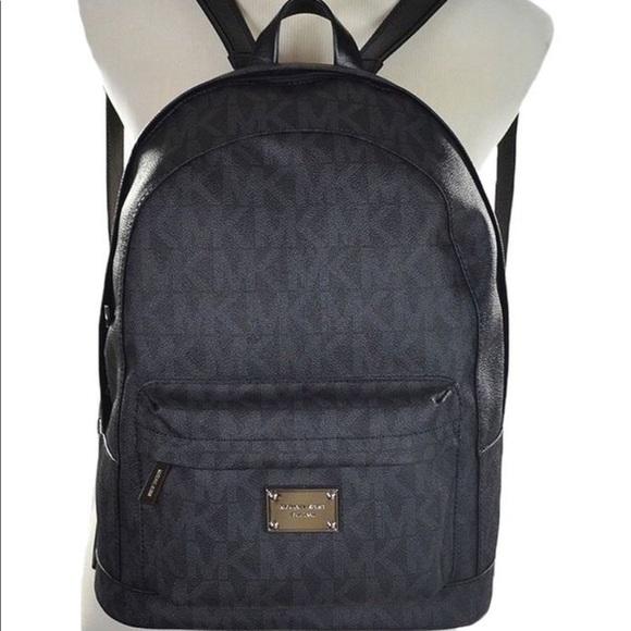 324229fbd634eb MICHAEL Michael Kors Bags | Black Michael Kors Backpack | Poshmark